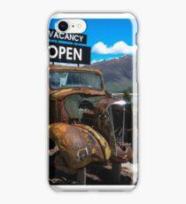 Makarora Truck Stop iPhone Case/Skin