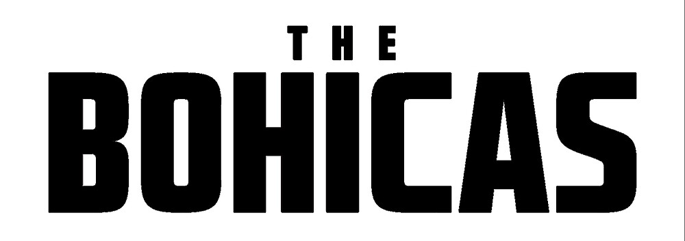 The Bohicas Logo (black) by katiej188