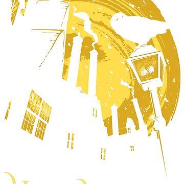Besuchen Sie Hogsmeade (gelb) von DJKopet