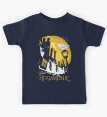 Besuchen Sie Hogsmeade (gelb) Kinder T-Shirt