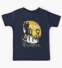 Visit Hogsmeade (yellow) Kids T-Shirt