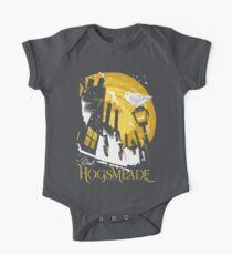 Besuchen Sie Hogsmeade (gelb) Baby Body Kurzarm