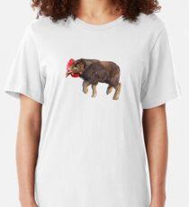 Chikalo - Buffalo Chiken Meme  Slim Fit T-Shirt