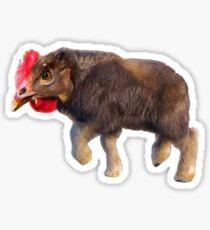 Chikalo - Buffalo Chiken Meme  Sticker