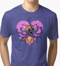 Love Goose the cat Tri-blend T-Shirt