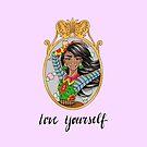 SOPHIE Love Yourself in Purple by Silvana Arias by SilvanaArias