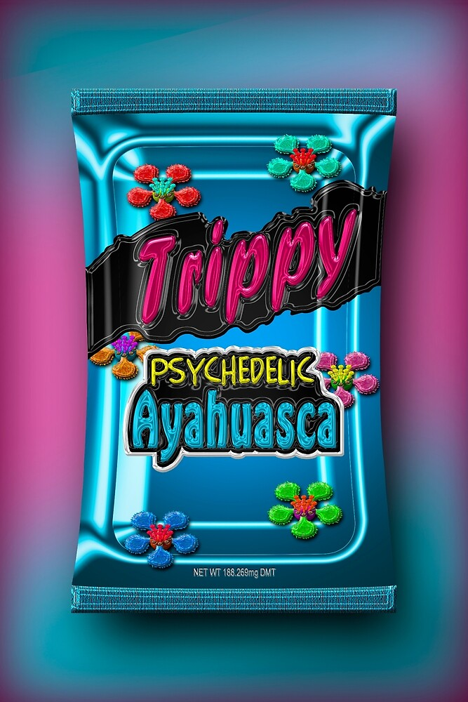 Trippy Psychedelic Ayahuasca
