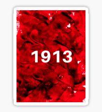 1913 Splotch Sticker
