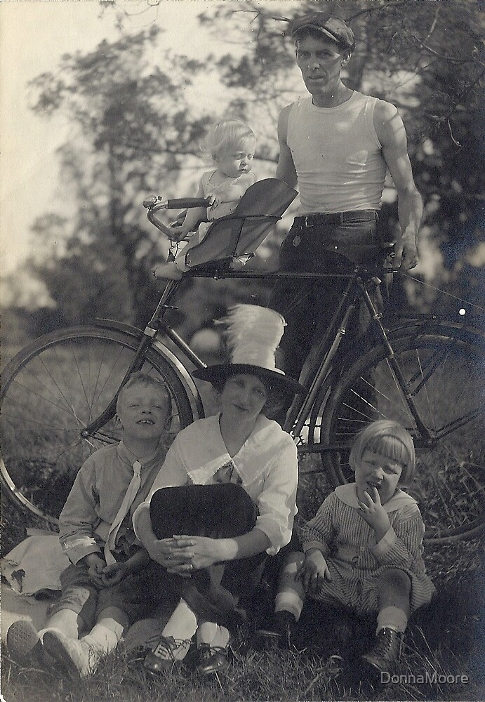 Out for a fun day in Boston, Massachusetts in 1915 by DonnaMoore