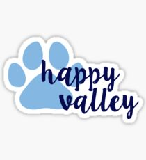 Penn State University Happy Valley  Sticker