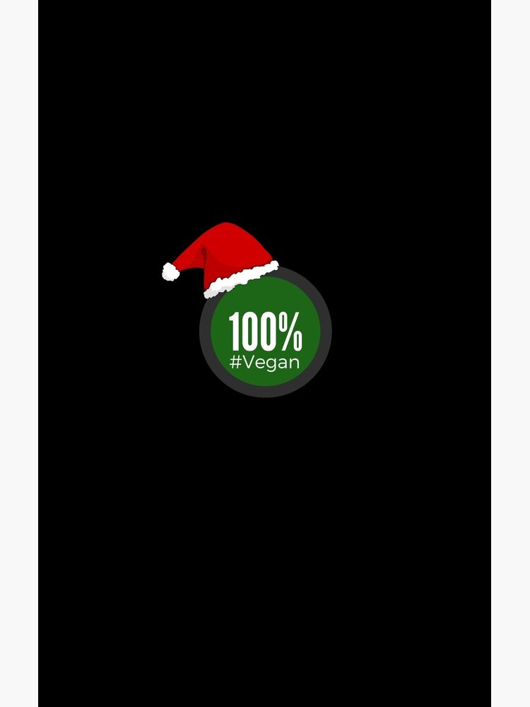 100% Vegan Christmas - Perfect Gift vegan Veganism de Gift-Ideas