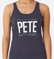 Camiseta con espalda nadadora Pete Buttigieg 2020 President Logo