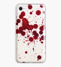 Blood Spatter 7 iPhone Case/Skin