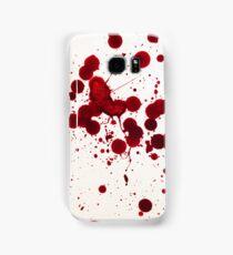 Blood Spatter 7 Samsung Galaxy Case/Skin