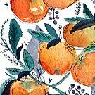 spring oranges by freeinthelines