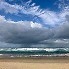 Coolum clouds by Annie Smit