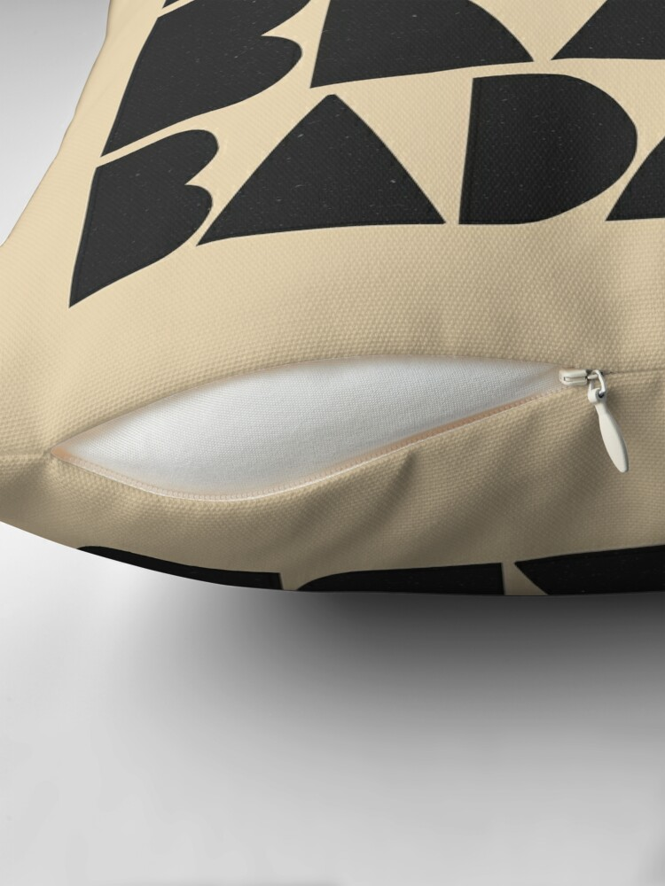 Alternate view of Bold Brave Badass. Floor Pillow