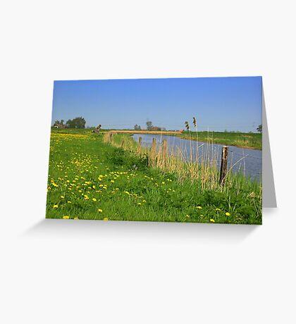 River *De Linde* Greeting Card