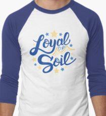 Loyal to my Soil Men's Baseball ¾ T-Shirt