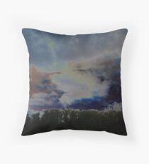 Mystical Cloudscape Throw Pillow