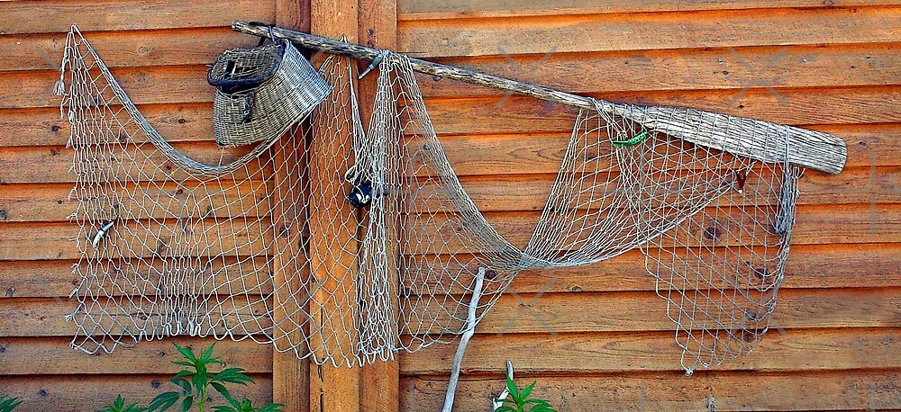 Recycling Old Fishing Gear by CarolM