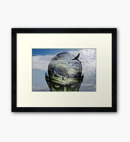 heading for home... Framed Print