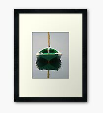 Calm Water..NoSail Framed Print
