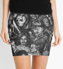 Classic Horror Movies Mini Skirt
