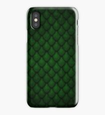 Dragon Scales - Green iPhone Case/Skin