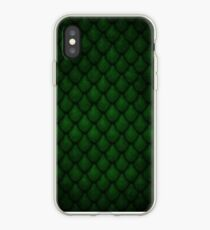 Dragon Scales - Green iPhone Case