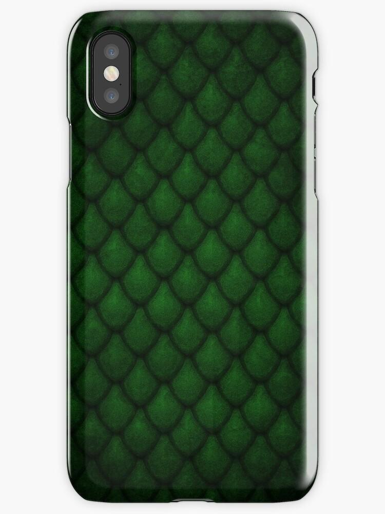 Dragon Scales - Green by Carlo Angelo Tuvilla