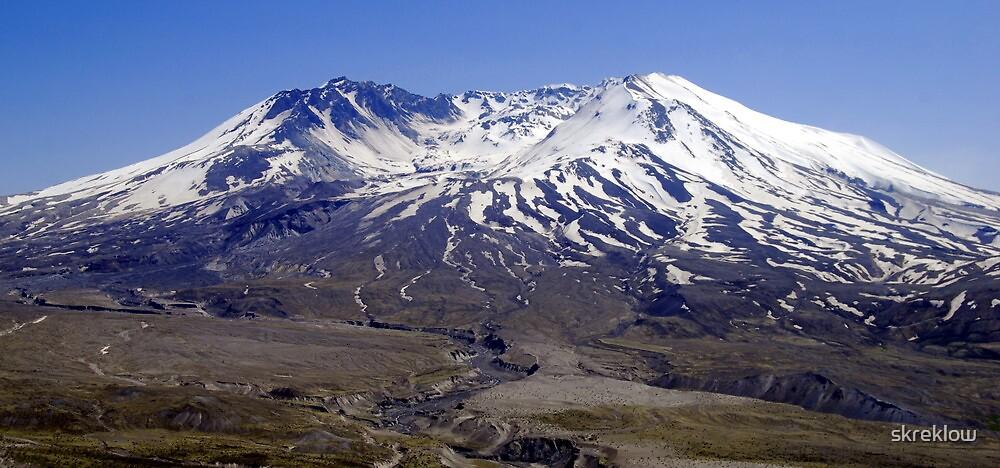 Mt St Helens by skreklow