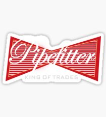 969f1810 Steamfitter graphic Pipefitter Gift print Piping Fitter Sticker