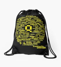 Qanon - Great Awakening - QResearch - OFFICIAL Cryptograph V2 Drawstring Bag