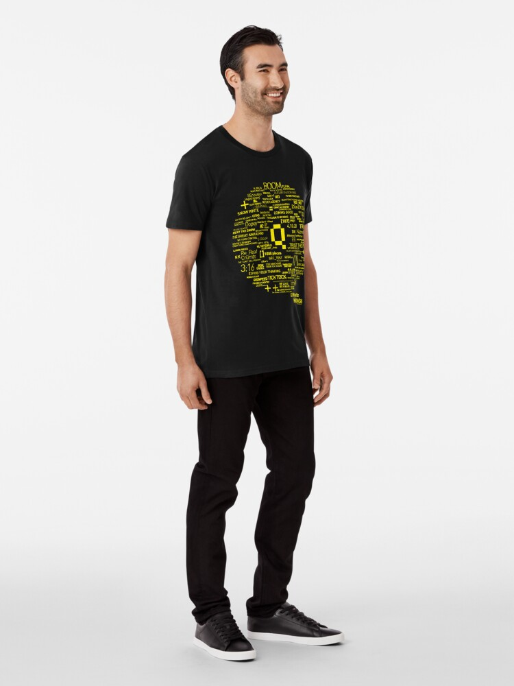 Alternate view of Qanon - Great Awakening - QResearch - OFFICIAL Cryptograph V2 Premium T-Shirt