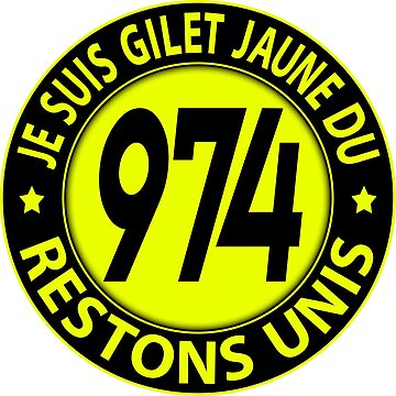 I'm Yellow Vest 974 by extracom
