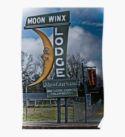 moon winx lodge Poster