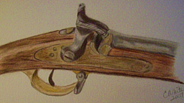 1830 Enfield Breech Muzzle Loader by anniepage