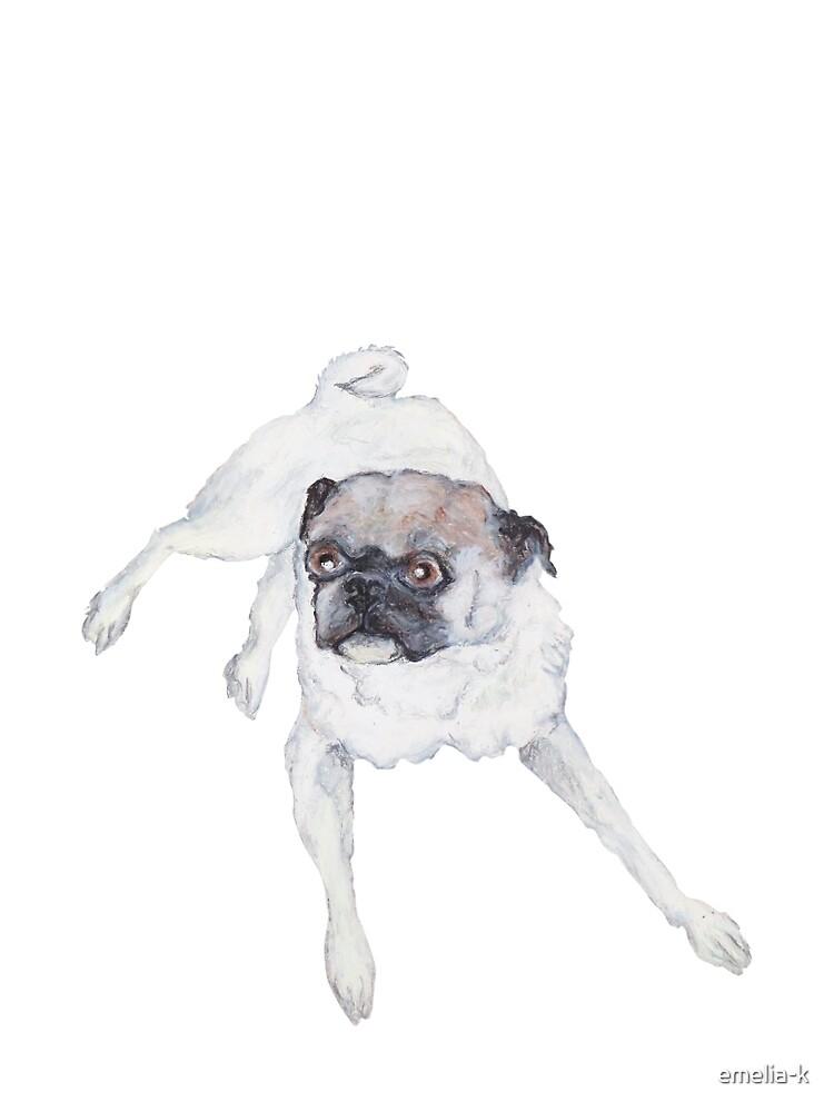 A Pug Named Prince by emelia-k
