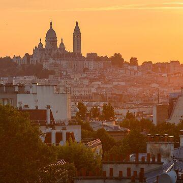 «Montmartre, Paris» par Isenmann