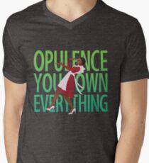 Opulenz! T-Shirt mit V-Ausschnitt