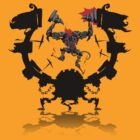 Dread Nazool - the Demon Drummer of Brainscream by Simon Sherry