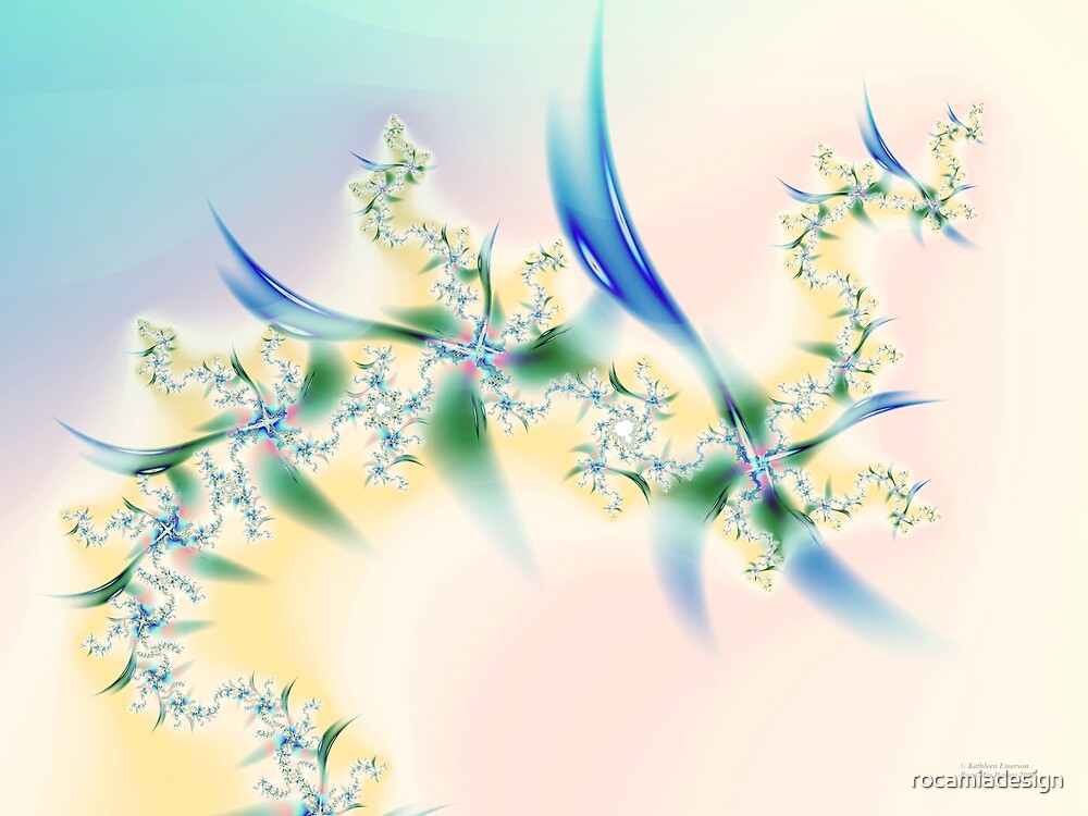 Floral Pastels by rocamiadesign