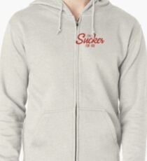 IM A SUCKER FOR YOU - JONAS BROTHERS Zipped Hoodie