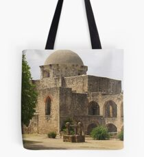 Back of Church at Mission San Jose Tote Bag