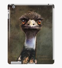 emu, all bluff iPad Case/Skin