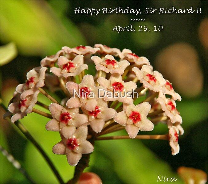 Happy Birthday, Richard!! ~ by Nira Dabush