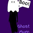 Ghost Mum Logo - Mummy to Twins Plus One by mum2twinsplus1