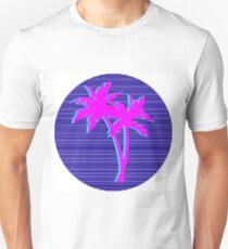 palm trees vaporwave T-Shirt