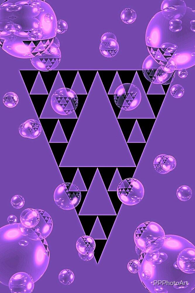 Purple Bubblangle by PPPhotoArt